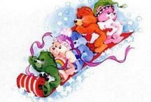 Care Bear   Christmas / .