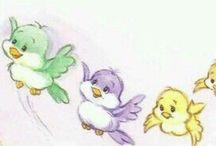 Care Bear   Bird Buddies / .