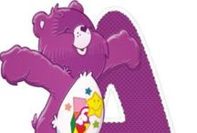 Care Bear   Alphabets / .