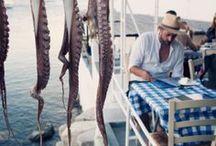 Greek bars, eateries