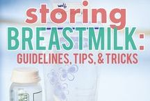 Breast Milk Storage / Fresh, Fridge, Frozen, Oh My! Guidelines for storing breast milk so it's safe and fresh for baby.