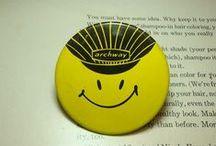 ♡ tin badge