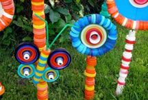 Recycled crafts etc.