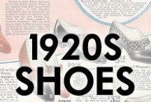 1920s Shoes / Shoes from the 1920s and with 1920s style