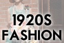 1920s Fashion / Dresses, Hats, Shoes, and Fashion from the 1920s