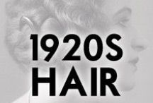 1920s Hair Styles / Hair style inspiration from the 1920s