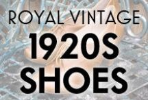 Royal Vintage 1920s Shoes / 1920s Dapper and Flapper shoe styles available from Royal Vintage Shoes