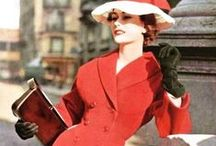 1950s Fashion / Dresses, Hats, and beautiful Fashions from the 1950s