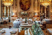 Beautiful hotels, cafés, restaurants