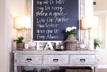 ♥ Farm House Chic / Farm house chic decor From the Interior Design Discovery Community of www.DecoandBloom.com and Around the Net
