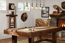 ♥ Game Room / Game Room Decor From the Interior Design Discovery Community of www.DecoandBloom.com and Around the Net