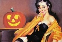 A Vintage Halloween / Vintage and Retro Halloween costumes, party ideas, decor, and all things vintage All Hallow's Ever
