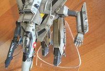 Robotech Macross / Valkyrie VF-1S model - 1/72 / Robotech Macross / Valkyrie VF-1S model