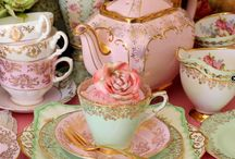 Beautiful  porcelain / porcelánok