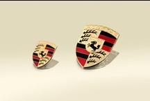 El escudo Porsche.