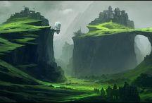 landschap concept