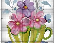 Cross-Stitch/Needlepoint/Sewing / All I need is a needle, DMC floss and a pattern to get lost in one of my favorite hobbies. / by Vivian Duran