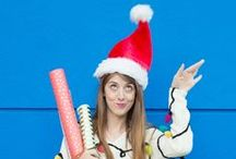 então é natal / Papel Noel, árvores e decoração! Aqui você vai ver tudo sobre o Natal.