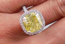 Canary Diamonds / With a beautiful yellow hue, these fancy diamonds sparkle and shine like no other.