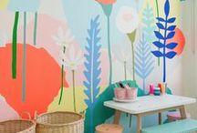 taca esse papel na parede / Floridos, geométricos e coloridos! Aqui você vai ver muitos papéis de parede.