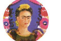 Diego Rivera e  Frida Kahlo. / Frida Kahlo e Diego Rivera: paixão, dor e arte   / by Vandira Guatimosim