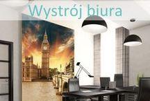 Wystrój biura / #wystrój #biura, #naklejki na ścianę, #fototapeta, #okleina, #plakat