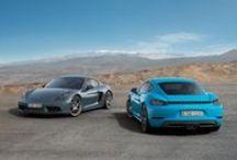 Nuevo Porsche 718 Cayman / Os presentamos el nuevo Porsche 718 Cayman. Un deportivo con motor central que aúna el espíritu del legendario Porsche 718 con el automóvil deportivo del mañana. Un sueño hecho realidad por puro deporte.