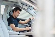 Patrick Dempsey conoce al nuevo Panamera / Para el actor y piloto Patrick Dempsey las carreras son mucho más que una afición. En California, Patrick se encuentra con el nuevo Porsche Panamera.