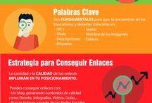 Infografías / Toda la información sobre redes sociales, seo y diseño web en infografías.