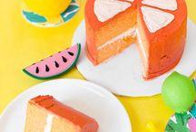 salada mista / Limão, morango e banana! Aqui você vai ver muitas frutas.