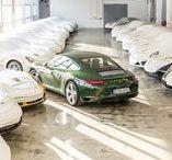 """Porsche 911 número un millón / El Porsche 911 número un millón. Se trata de un Carrera S en color """"verde irlandés"""", con numerosas características únicas pero siguiendo el original de 1963."""