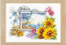 Point de croix/Broderie - Crosstitch/Embroidery