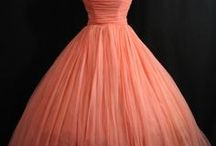 Vintage Fashion / Vintage and antique fashions, dresses, designs, clothing, and decorative arts.