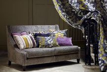 "Jewel Tones / A collection of ""Jeweled"" toned inspirational fabrics and interiors."