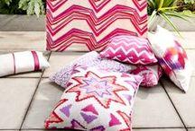 "Ethnic / Trending ""ethnic"" inspired fabrics and interiors."