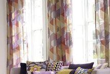 "Geometric / Trending ""angled and cut diamond"" inspired fabrics for your interiors."