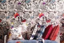 Flora & Fauna / Trending Botanical, Animal and Insect inspired fabrics and interiors.