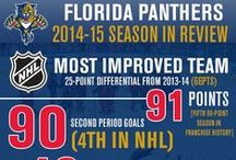 Infographics / #FlaPanthers stats, quotes, pictures, graphs and more. / by Official Florida Panthers