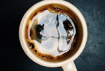"""Slow down and drink.. / """"Behind every successful woman is a substantial amount of coffee."""" Stephanie Piro"""