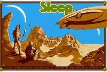 Sleep / All artwork by David V. D'Andrea. © Samaritan Press. Signed and numbered screen prints available at www.samaritanpress.org. Thank you.