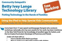 Free Workshops / The Betty Ivey Lange Technology Library http://www.gatepath.org/lange-library/