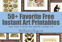 Graphics / Vintage graphics, free images, designs, inspiration, projects, and patterns.