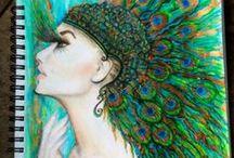 My Art / Drawings, Sketches, Paintings, Mixed Media