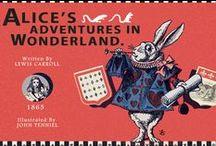 Alice in Wonderland / Colección Vintage Galore de 7321 Design de papelería de diseño de Alicia en el País de la Maravillas con fantásticas ilustraciones de esta misteriosa niña que salio de la imaginación del escritor inglés Lewis Carroll.