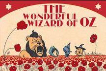 The Wizard of Oz / Colección Vintage Galore de 7321 Design de papelería de diseño de El Mago de Oz con fantásticas ilustraciones de los personajes creados por William Denslow para el libro de Lman Frank Baum.