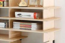 Nábytek a organizace / furniture ideas, storage