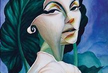 fairy lady / graphics photos painting