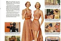 Vintage Sewing Ads / Vintage sewing ads and trade cards. Victorian through the 1970s. Related to sewing machines, sewing companies, sewing notions, thread, and sewing attachments.