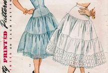 Vintage Sewing Patterns / Examples of, inspiration for, and tutorials related to vintage sewing patterns.