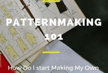 Pattern Drafting / Resources related to drafting and fitting sewing patterns.